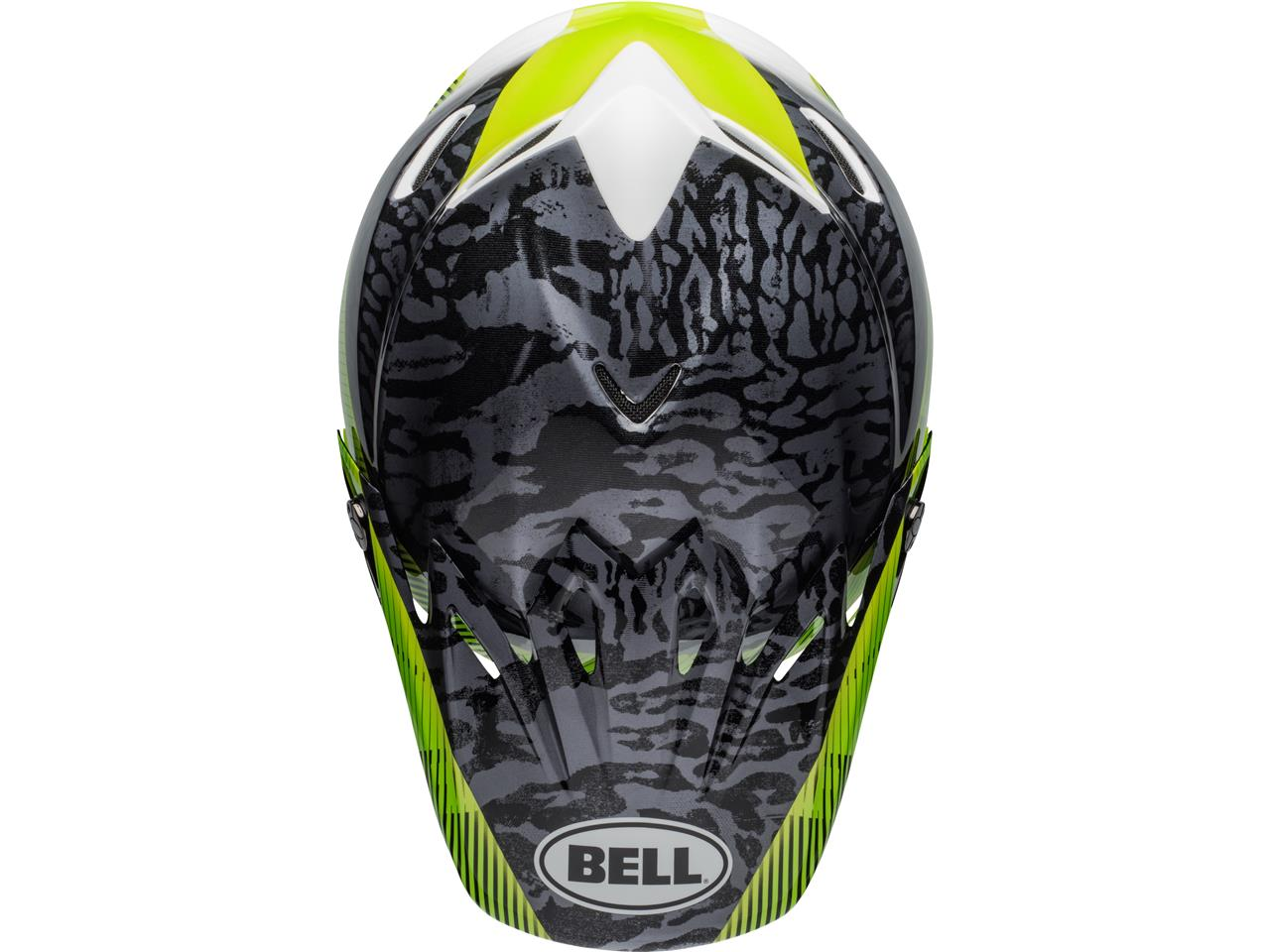 Casque bell moto 9 mips chief matte green 4