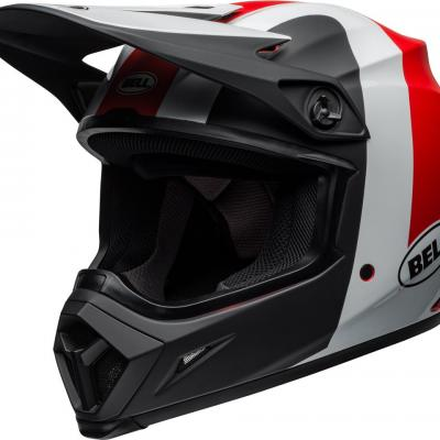 Casque bell mx 9 mips presence rouge 1