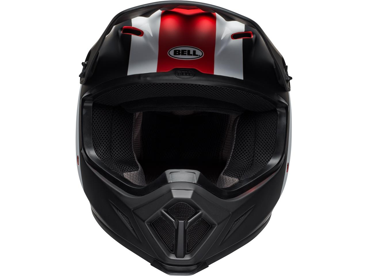 Casque bell mx 9 mips presence rouge 2