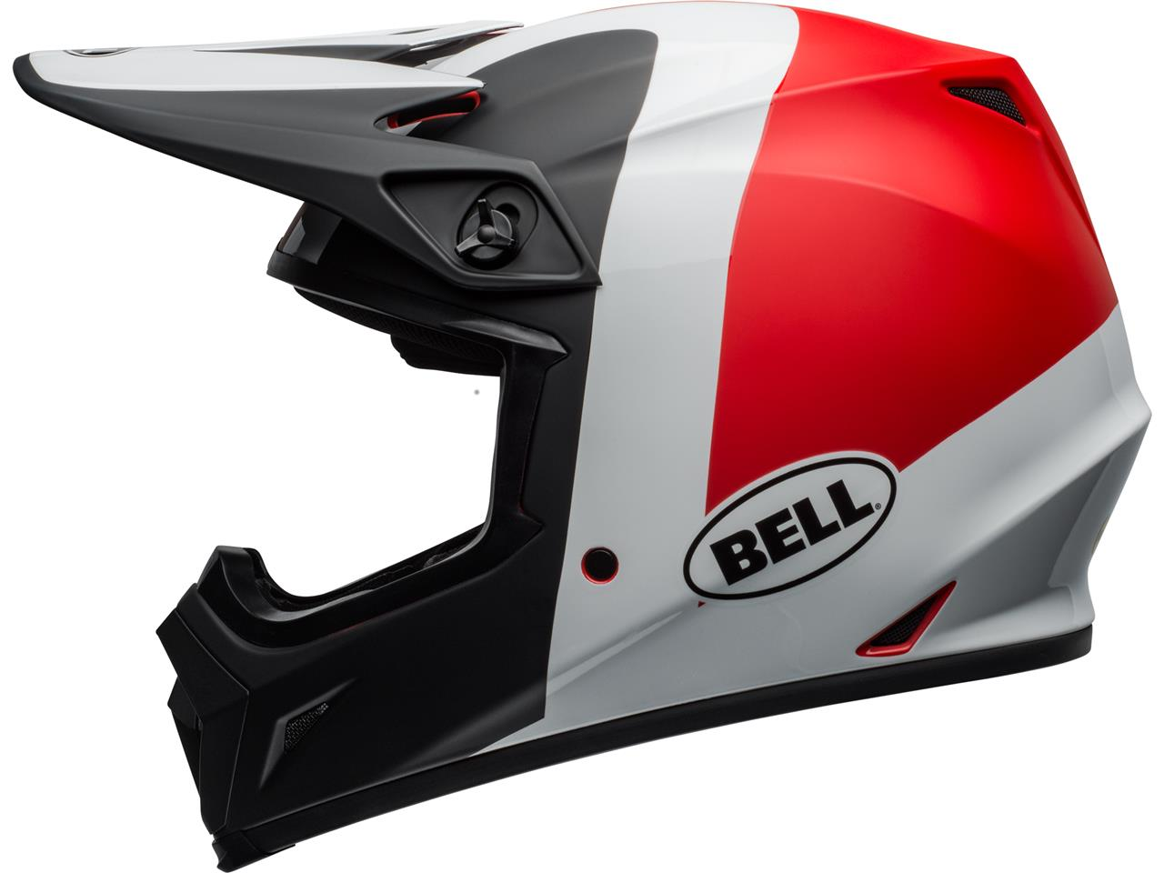 Casque bell mx 9 mips presence rouge 4