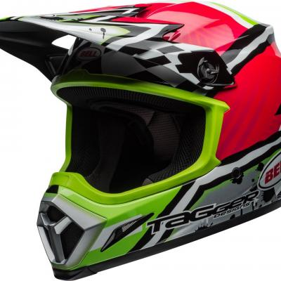 Casque bell mx 9 mips tagger asymetric green 1