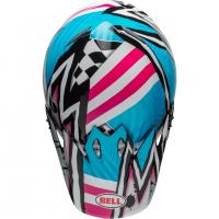 Casque bell mx 9 mips tagger asymetric pink 3
