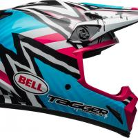 Casque bell mx 9 mips tagger asymetric pink 4