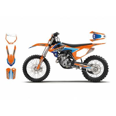 Déco: Kit déco KTM 2D MOST