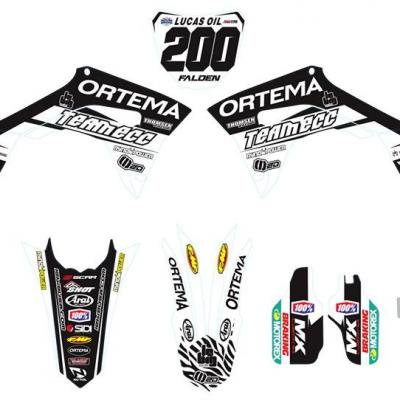 Déco: kit déco Honda Replica Falden 2018