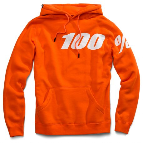 Disrupt pullover sweatshirt orange