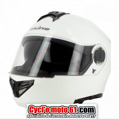 Casque Route modulable S-line S520 Blanc