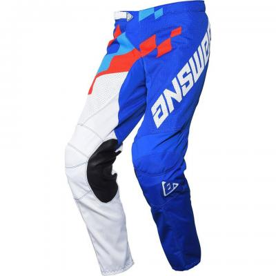 Pantalon Motocross ANSWER Arkon Bleu / Rouge / Blanc