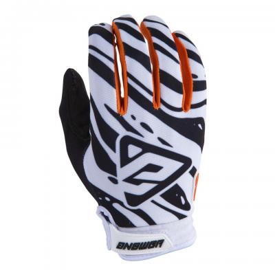 Gants Motocross ANSWER AR3 White / Black / Orange