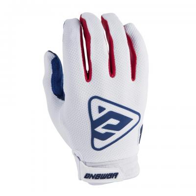 Gants Motocross ANSWER AR3 Blanc / Rouge