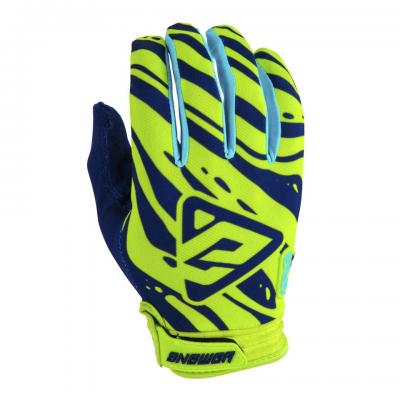 Gants Motocross ANSWER AR3 Hyper Acid / Midnight / Astana