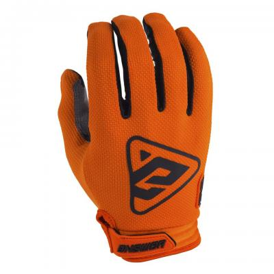 Gants Motocross ANSWER AR3 Orange / Noir