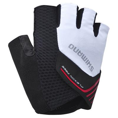 Destockage: Gants Mitaine Shimano Escape Blanc