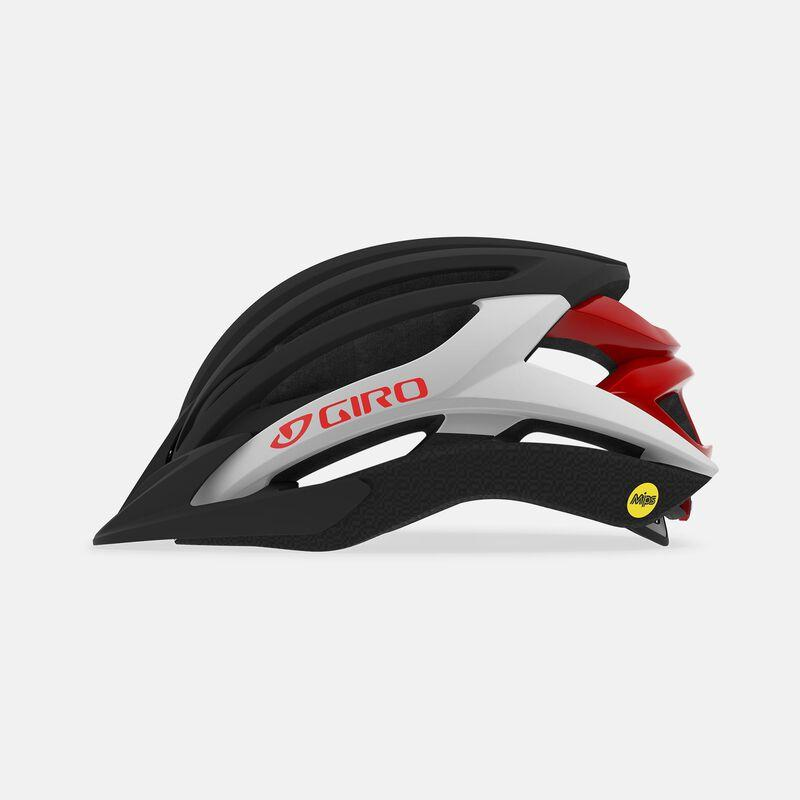 Giro artex mips dirt helmet matte red profile