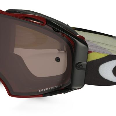 Masque Motocross OAKLEY Airbrake Heritage Racer Bright Red