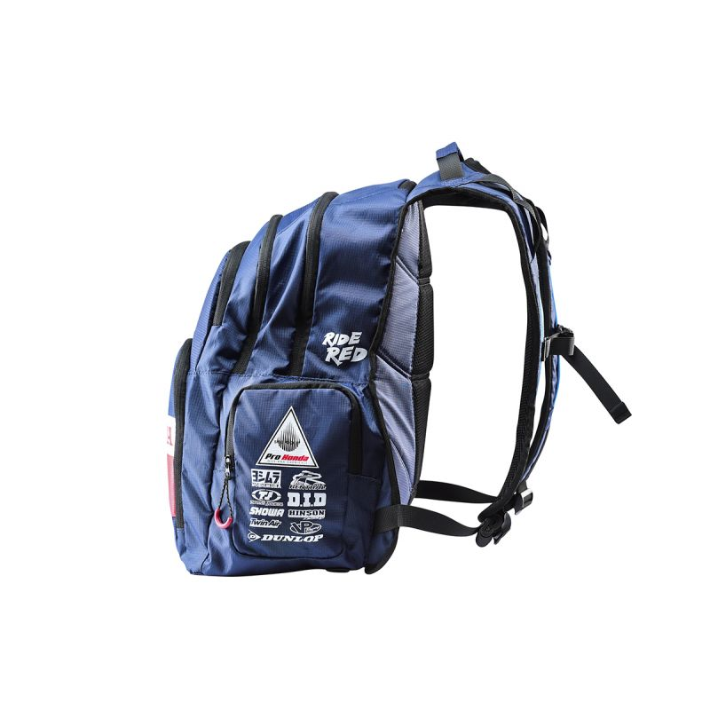 Honda navy backpack 4
