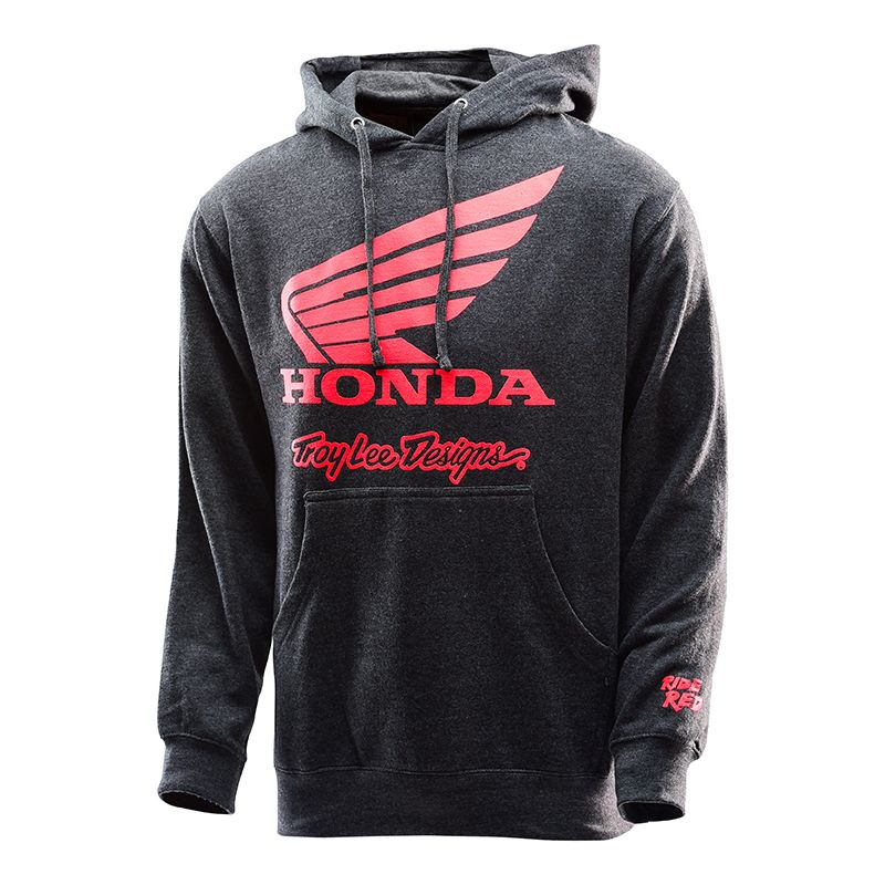 Honda wing charcoal pullover 1