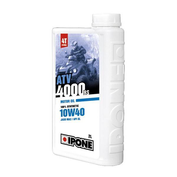 Huile atv 4000 rs 10w40 4t 2 litres ipone