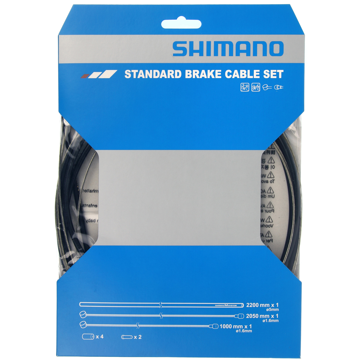 Kit cable frein shimano