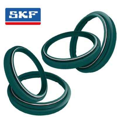 Suspensions: Kit 2 Joints Spy + 2 cache Poussières de Fourche SKF Haute protection