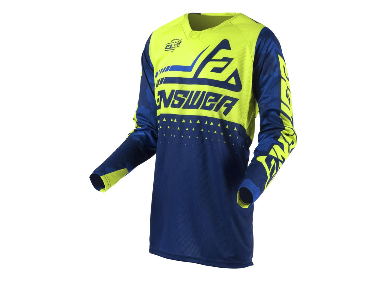 Maillot answer elite discord midnight hyper acid 1