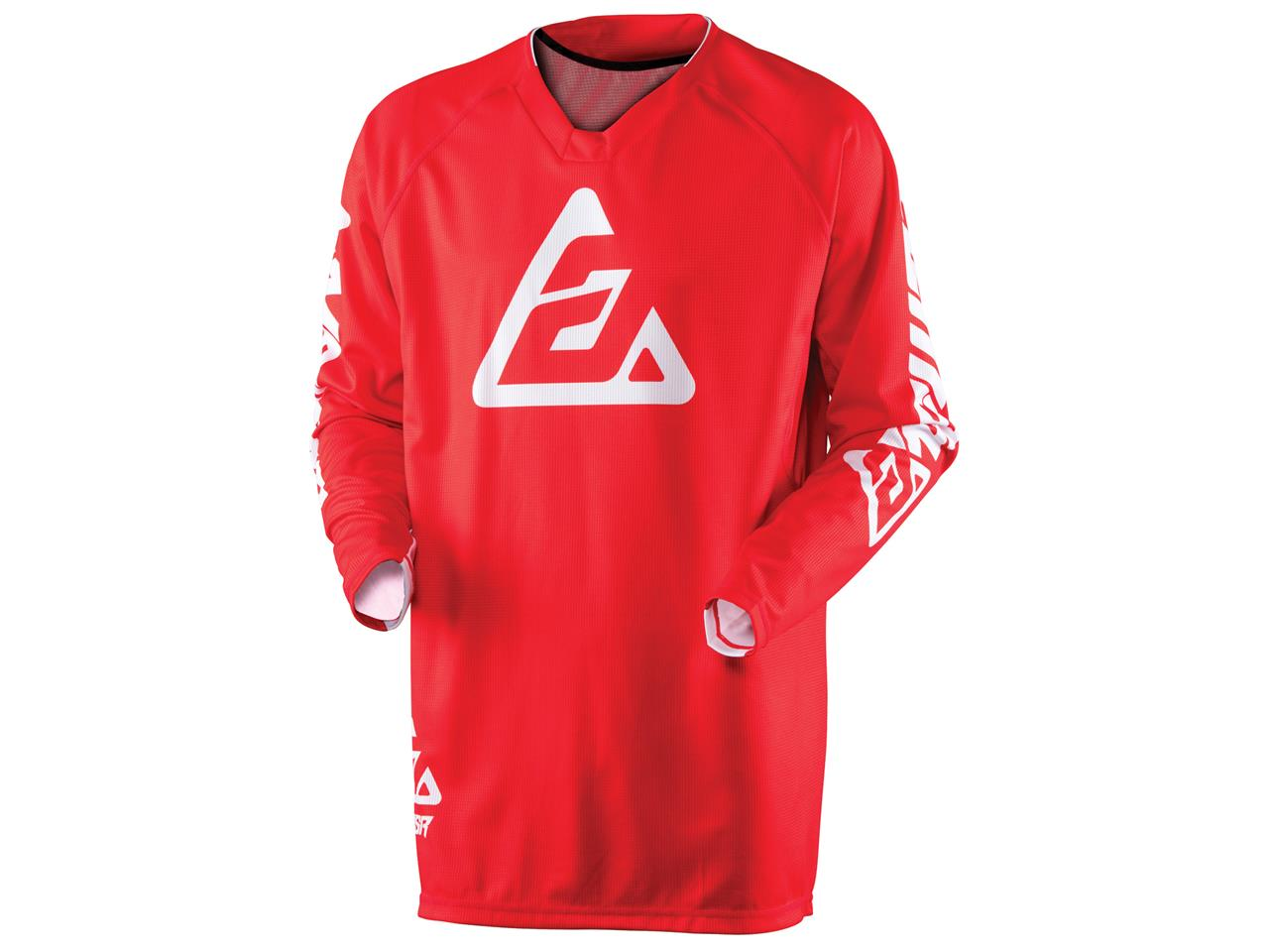 Maillot answer elite solid rouge 1