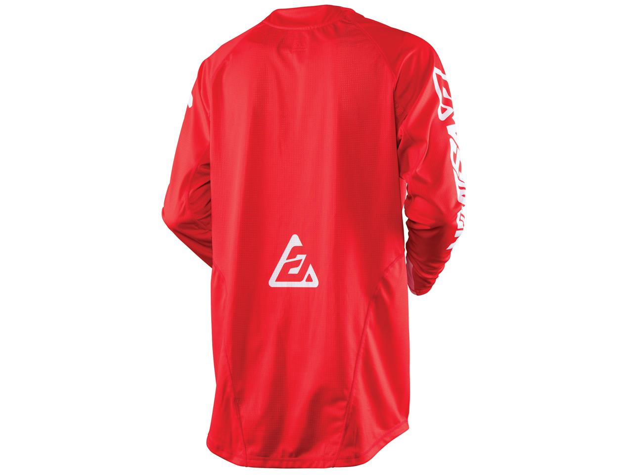 Maillot answer elite solid rouge 2