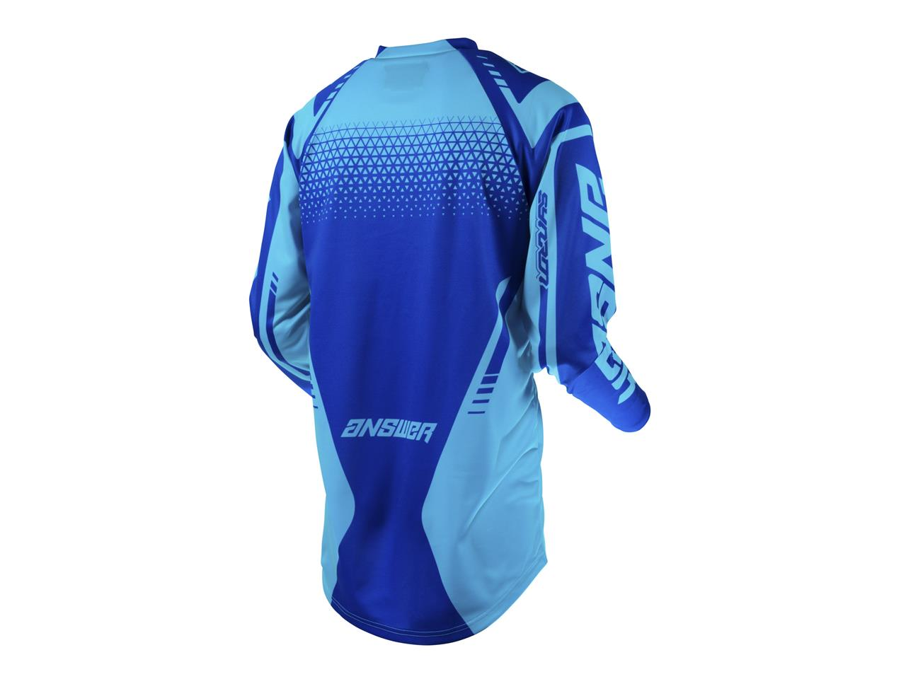 Maillot answer syncron drift astana reflex blue 2