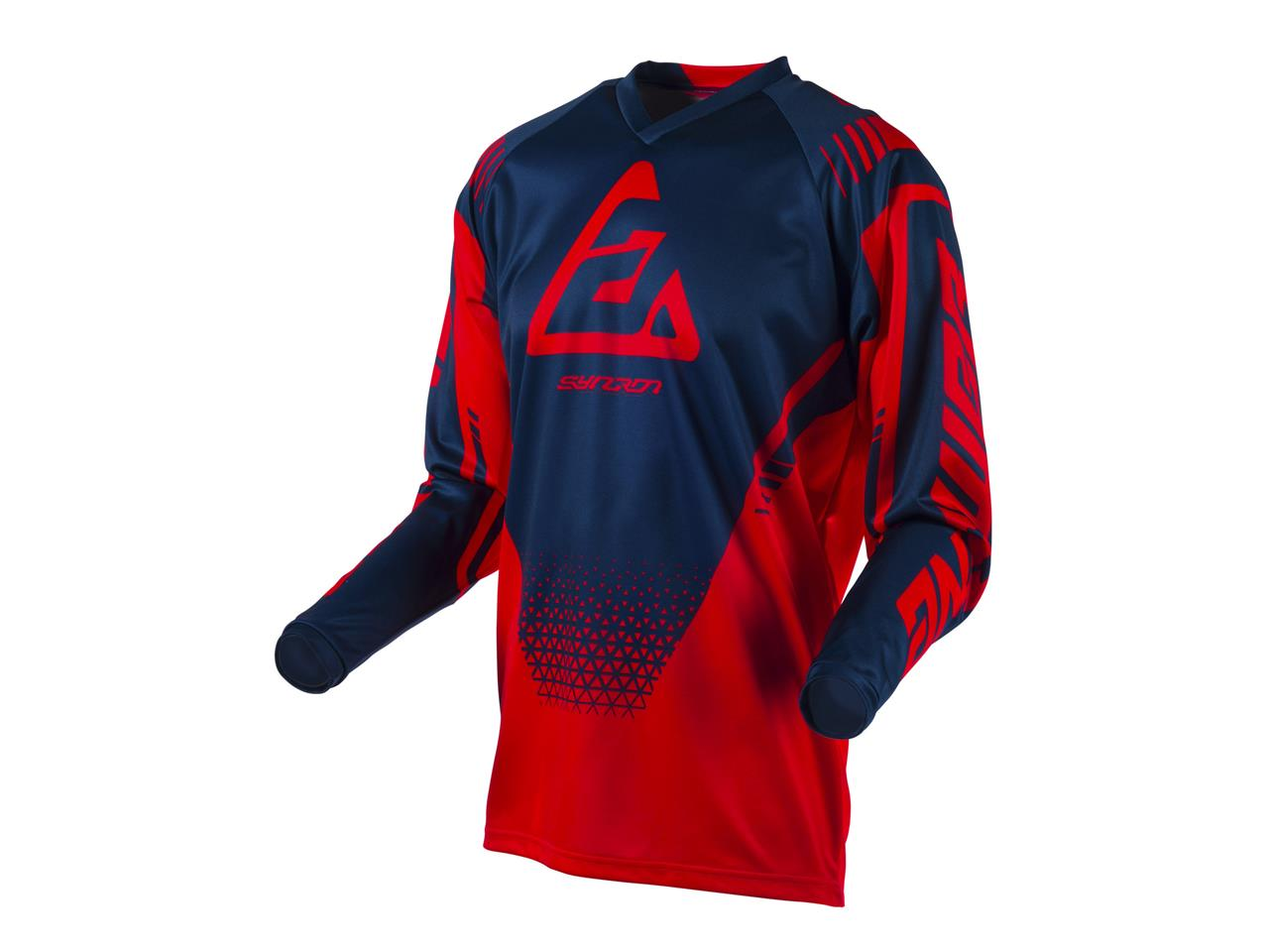 Maillot answer syncron drift red midnight 1