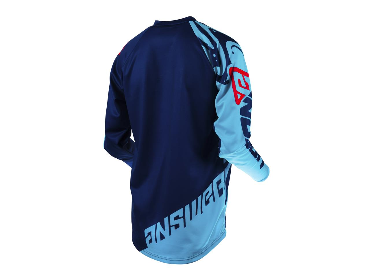Maillot answer syncron flow astana indigo bright red 2
