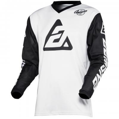 Maillot Motocross ANSWER Arkon Blanc / Noir