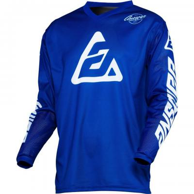 Maillot Motocross ANSWER Arkon Bleu / Blanc