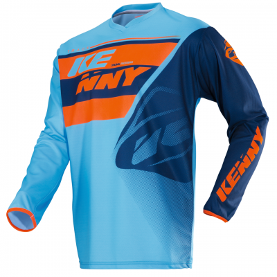 Maillot enfant Kenny Track Bleu / Orange 2018