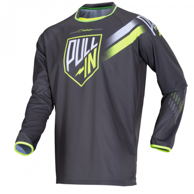 Maillot  Pull-In Challenger Grey / Lime 2018