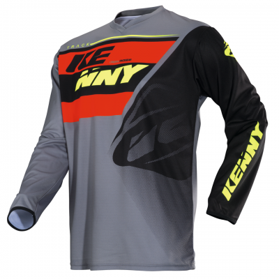 Maillot  KENNY Track Grey / Orange