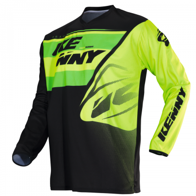 Maillot  KENNY Track Lime