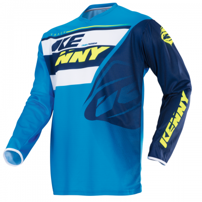 Maillot  KENNY Track Navy / Cyan