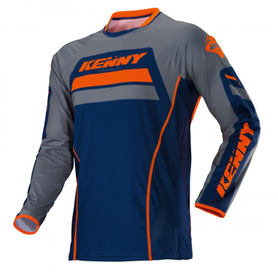 Maillot Kenny Titanium Navy / Orange 2018