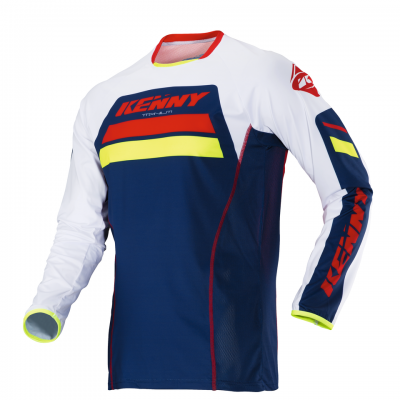Maillot Kenny Titanium Navy / Red 2018