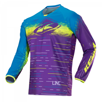 Maillot Kenny Performance Purplelines 2018