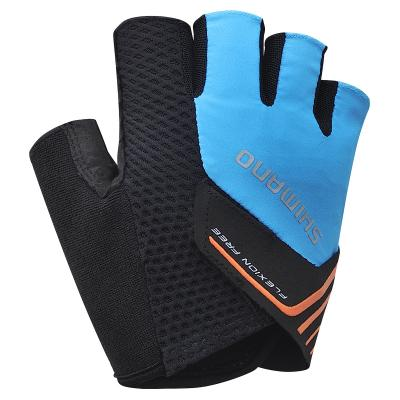 Destockage: Gants Mitaine Shimano Escape Bleu