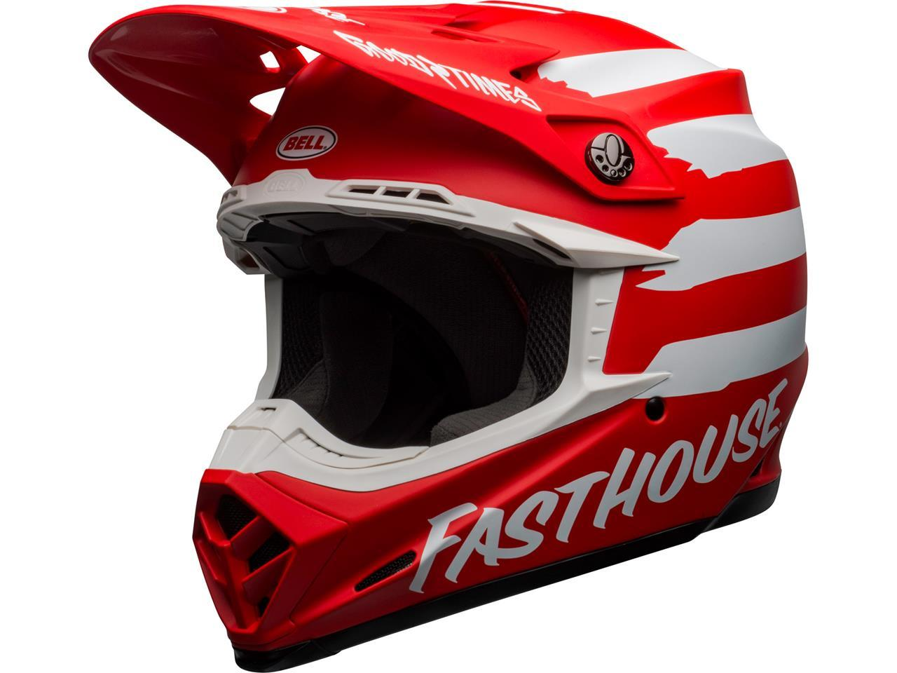 Moto 9 adulte fasthouse rouge 1