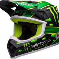 Mx 9 mips mcgrath showtime replica matte black green 1