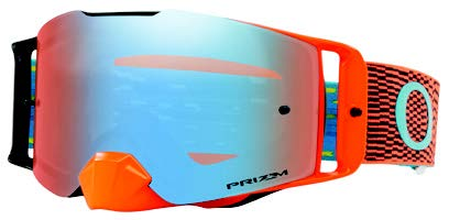 Oakley equalizer orange bleu