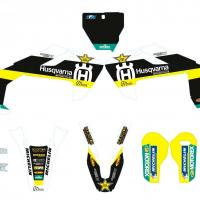 Pack ouies et gb av ar husqvarna cyclos moto 61 6