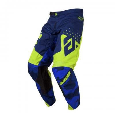 Pantalon Motocross ANSWER Elite Discord Midnight / Hyper Acid