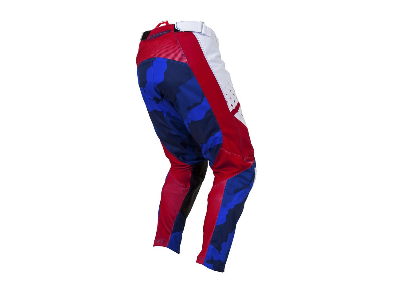 Pantalon answer elite discord rouge blanc 2