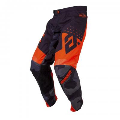 Pantalon Motocross ANSWER Elite Discord Noir / Orange