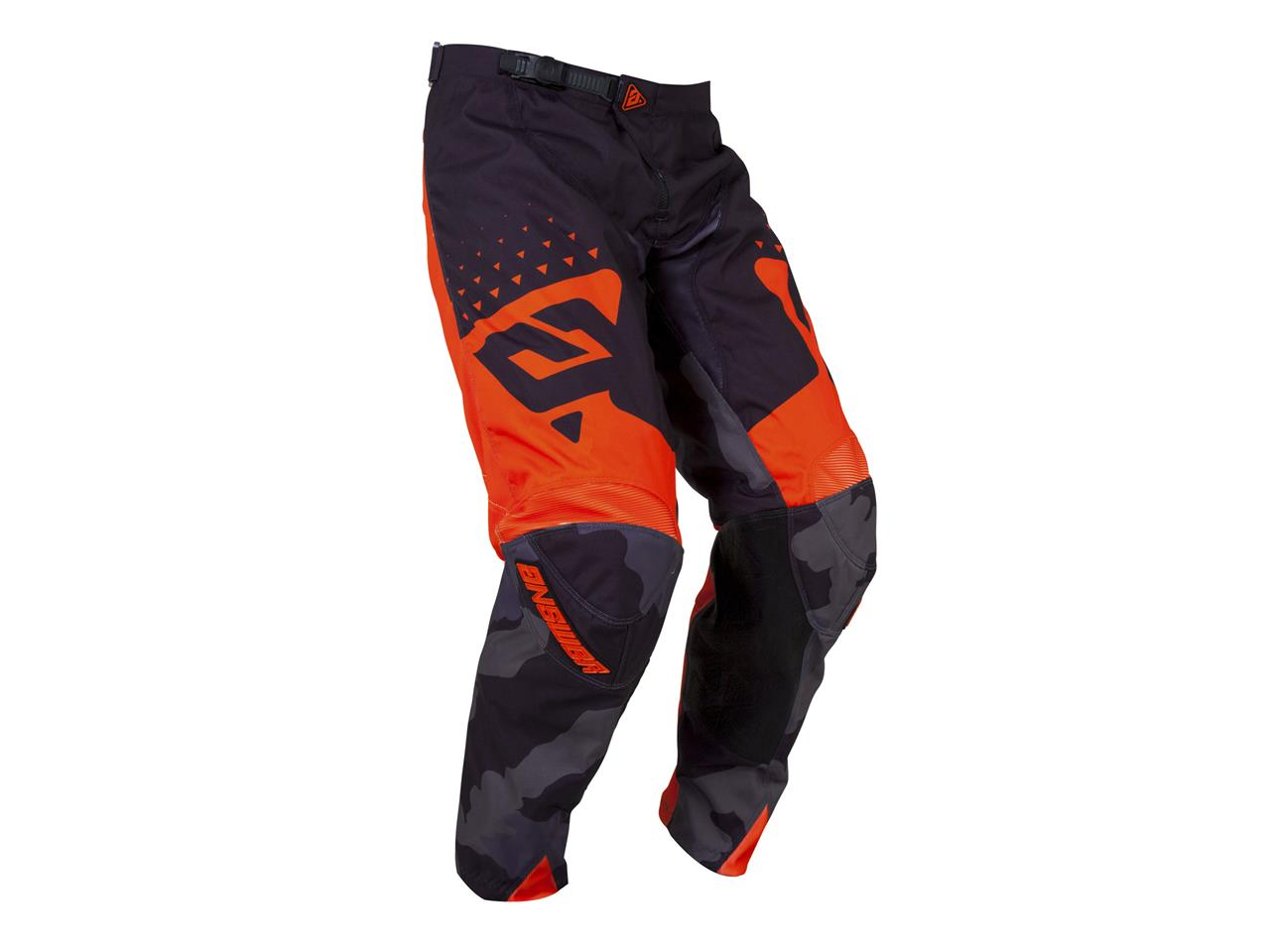 Pantalon answer elite features black orange 2