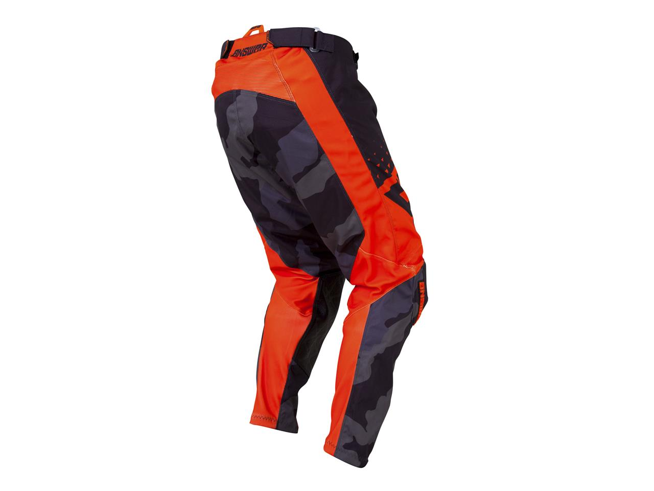 Pantalon answer elite features black orange 3
